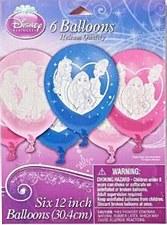 Disney Princess Printed Latex Balloons