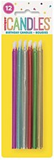 Multi Color Birthday Candles