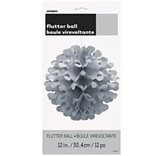 """12"""" Flutter Ball - Silver"""