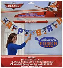 Planes Jumbo Letter Banner