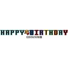 Spice In Sapce Birthday Banner