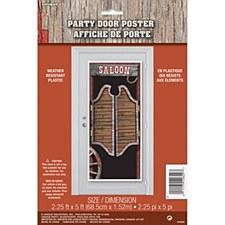 Saloon Door Poster