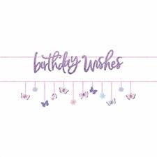 Birthday Wishes Banner