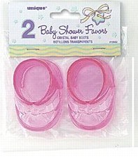 Crystal Pink Baby Boots