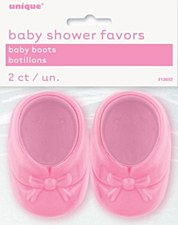 2 BBY BOOTS 3'' PINK CRYSTL FA