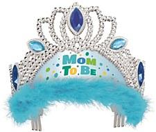 """Mom to Be"" Blue Tiara"