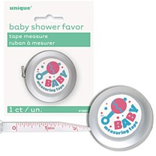 Baby Shower Tape Measure