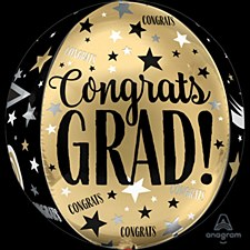 15' Congrats Grad Orbz
