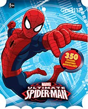 Marvel Spider-Man Sticker Book - 8 Sheets