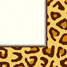 Animal Print Leopard Lunch Napkin