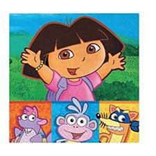 Dora & Friends Bev. Napkins