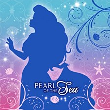 Little Mermaid Sparkle Bev. Napkin