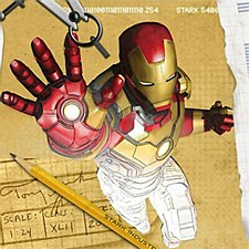 Iron Man Bev Napkins