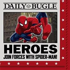 Spider Hero Bev. Napkins