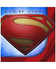 Superman Saves The Day Bev. Napkins