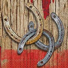 Rodeo Western Bev. Napkin