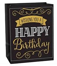 Elegant Wishing You A Happy Birthday Gift Bag