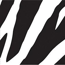 Animal Print Zebra Bev Napkin
