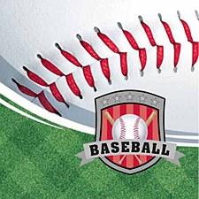 Team Sport Baseball Lunch Napkin