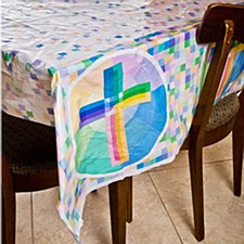 Holy Light Tablecover