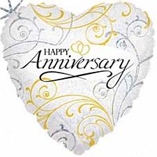 """18""""Filigree Anniversary"""
