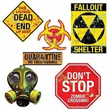 Toxic Quarantine Cutouts