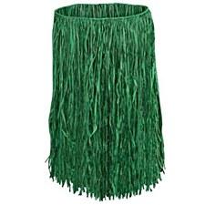 """Luau Hula Skirt 36""""W x 30""""L - Green"""