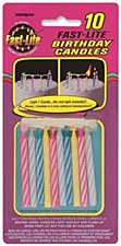 10 Fast Lite Assorted candles