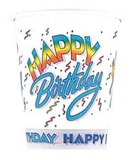 Happy Birthday 9 oz. Cups 8ct