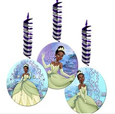 The Princess & The Frog Hanging Decorations
