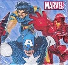 Marvel Heroes Bev. Napkins