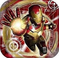 "9""Iron Man Plates"
