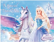 Barbie Magic Invitations