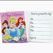 Disney Princess A Royal Celebration Invitations
