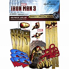 Iron Man 3 Party Favor Pack