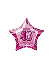 "20"" Prismatic 40th Birthday"