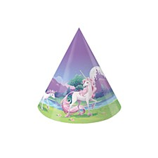 Unicorn Fantasy Child Size Party Hats, 8ct