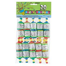 Party Poppers 20ct