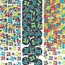 Brilliant 21st Birthday Confetti