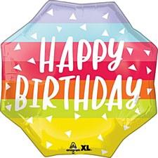 "22""Bright & Bold Birthday"