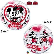 Disney Minnie & Mickey Love Bubbles