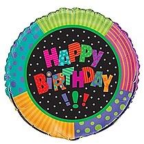 "18"" Infinite Birthday Foil Balloon"