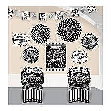 Chalkboard Dots Birthday Room Decorating Kits