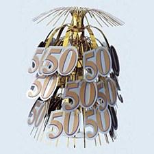 50th Gold Cascade Centerpiece