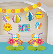 Fun In The Sun Room Decorating Kit