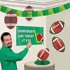 Football Personalized Room Decorating Kit