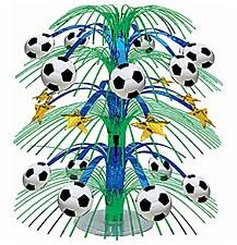 Cascade Soccer Centerpiece 18in