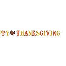 Glittter Letter Banner Thanksgiving 12ft