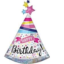 """27""""Birthday Sparkle Hat"""