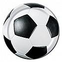 """3D Soccer 7"""" Dessert Plates 8ct"""